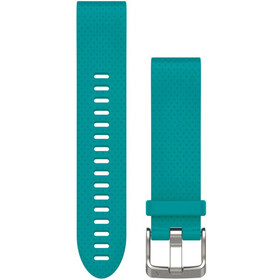 Garmin fenix 5S Silicone Wristband QuickFit 20mm turquoise